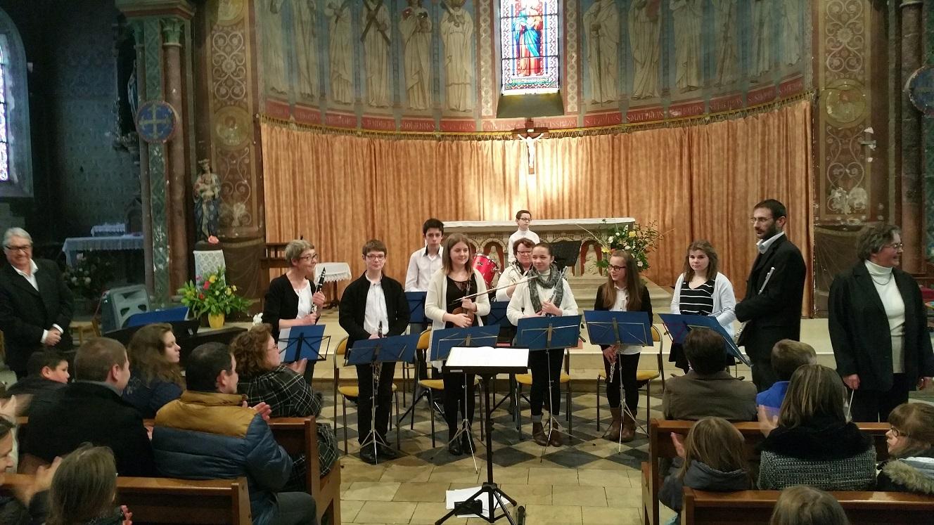 Concert eglise st florent orchestre 13 03 2016